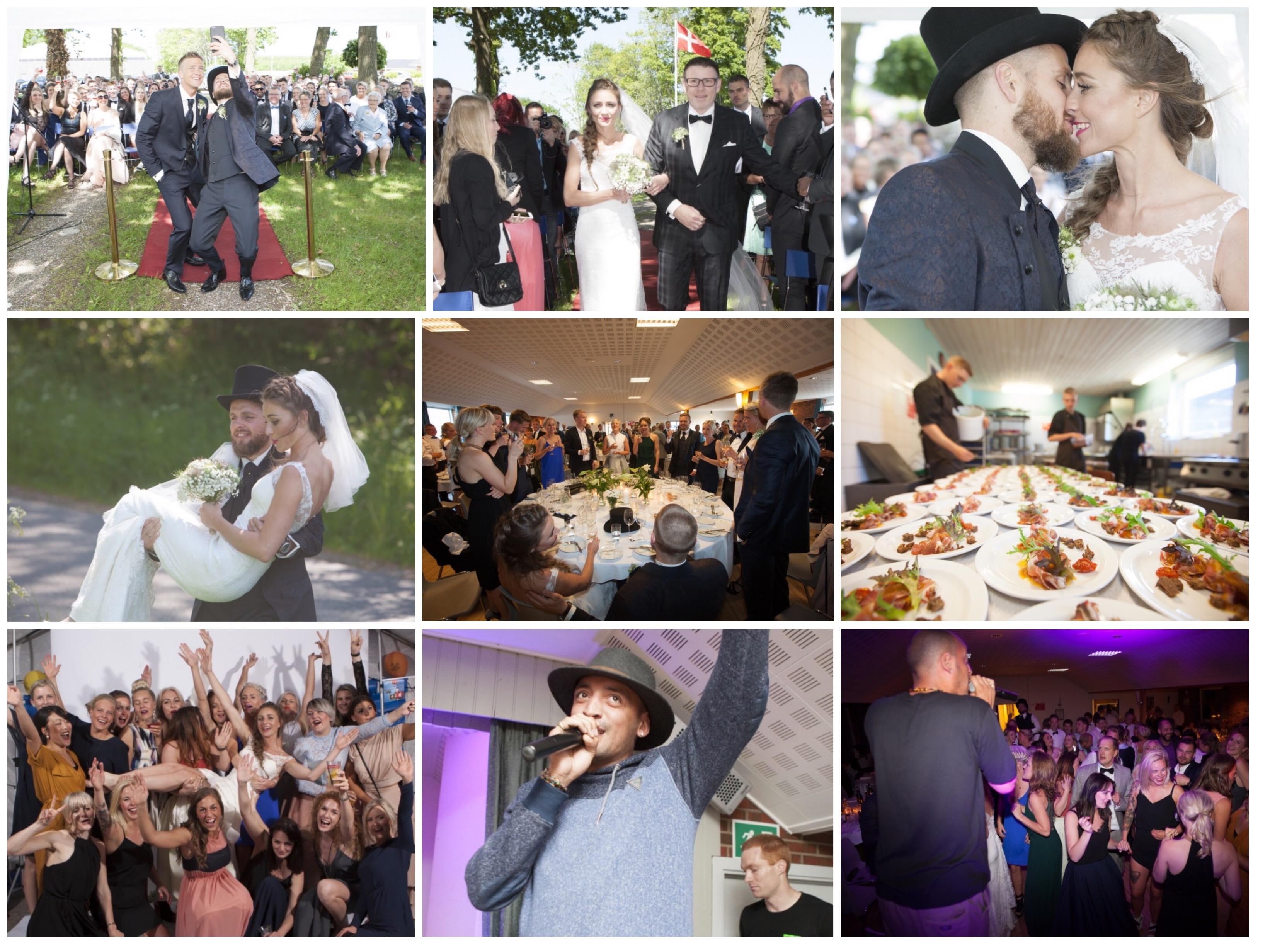 Vores bryllup i billeder